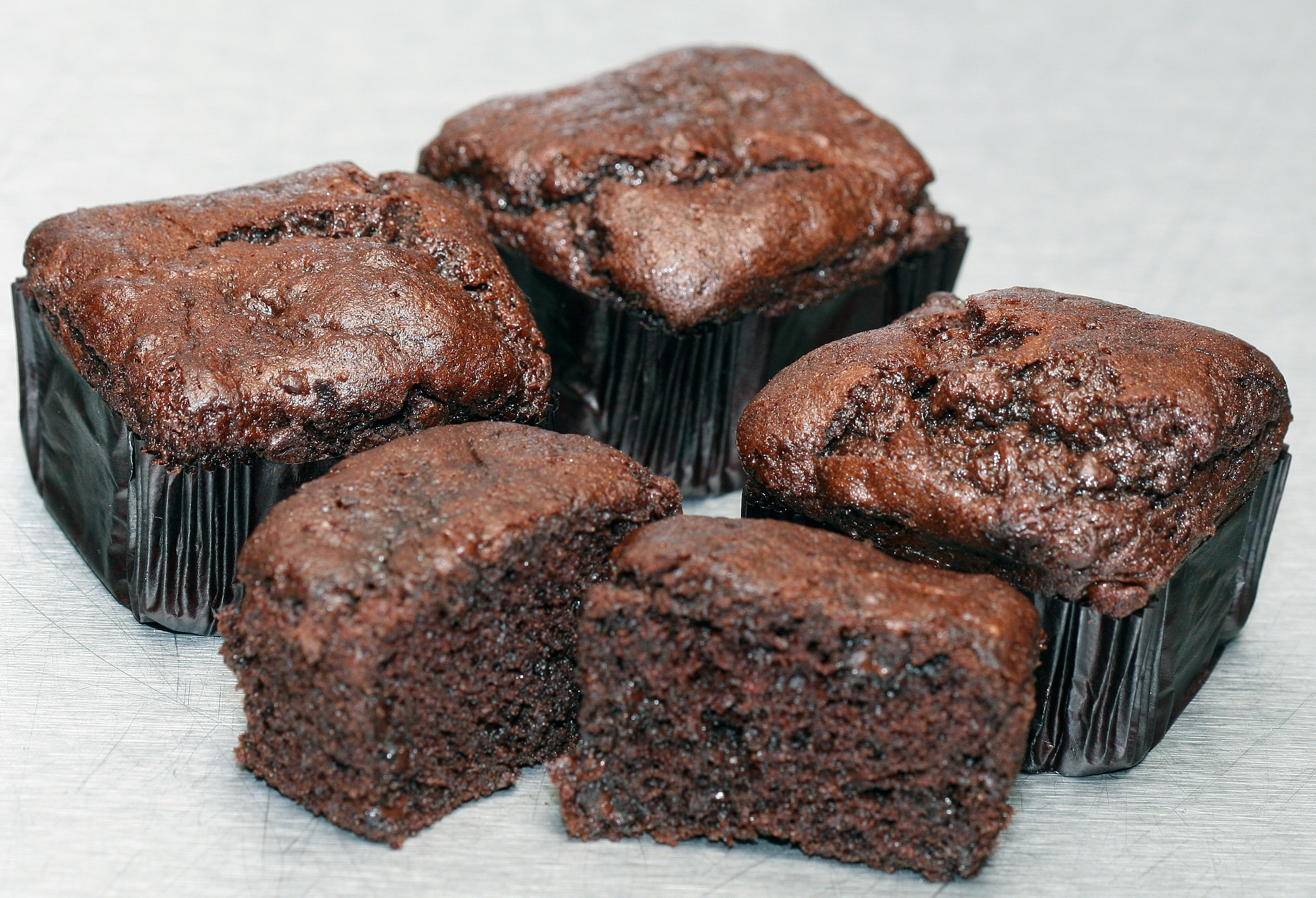 Double Chocolate Muffins - Gluten Free - 4 pk - 10 OZ
