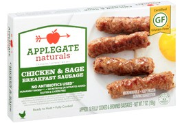 Sausage Natural Chicken & Sage Breakfast (Contains Sugar) - 8 OZ